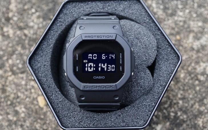 G-Shock DW-5600BB-1DR được tích hợp hơn 10 tính năng - Ảnh: 4