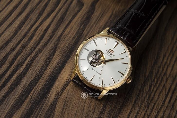 Review chi tiết đồng hồ Orient FAG02003W0 lộ cơ Nhật Bản - Ảnh: 2
