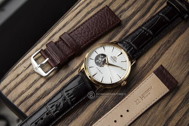 Review chi tiết đồng hồ Orient FAG02003W0 lộ cơ Nhật Bản - Ảnh: 6