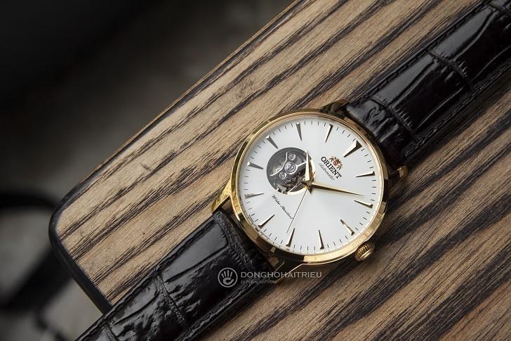 Review chi tiết đồng hồ Orient FAG02003W0 lộ cơ Nhật Bản - Ảnh: 1