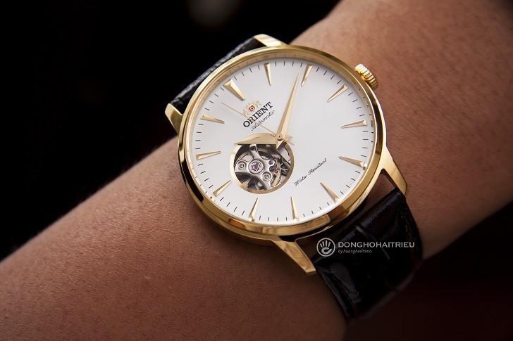 Review chi tiết đồng hồ Orient FAG02003W0 lộ cơ Nhật Bản - Ảnh: 5