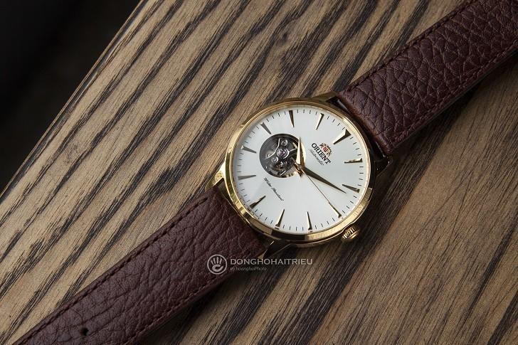 Review chi tiết đồng hồ Orient FAG02003W0 lộ cơ Nhật Bản - Ảnh: 4