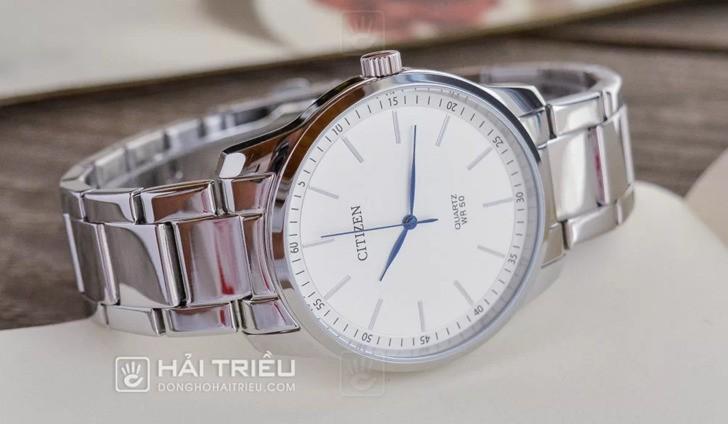 Đồng hồ Citizen BH5000-59A: Hoàn hảo với phong cách kim xanh - Ảnh 1