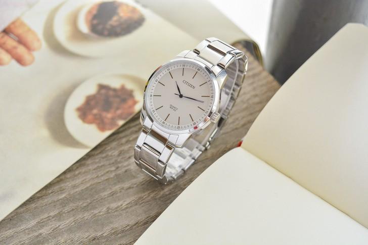 Đồng hồ Citizen BH5000-59A: Hoàn hảo với phong cách kim xanh - Ảnh 2