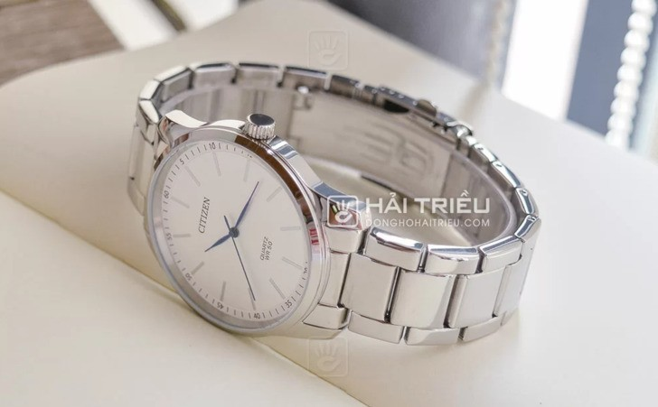 Đồng hồ Citizen BH5000-59A: Hoàn hảo với phong cách kim xanh - Ảnh 5