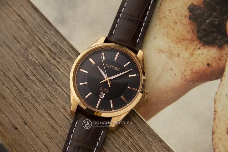 Đồng hồ Citizen BI1033-04E: Sức hút từ phong cách cổ điển - Ảnh 1