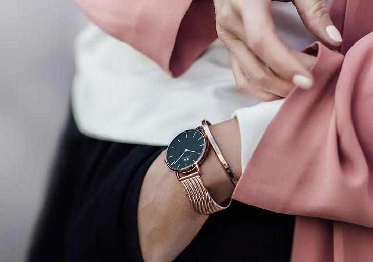 Đồng hồ nữ Daniel Wellington DW00100161 thay pin miễn phí - Ảnh 2