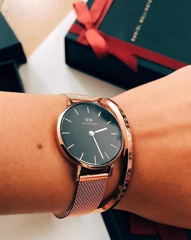 Đồng hồ nữ Daniel Wellington DW00100161 thay pin miễn phí - Ảnh 3