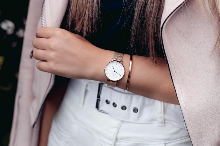 Đồng hồ nữ Daniel Wellington DW00100163 thay pin miễn phí - Ảnh 5