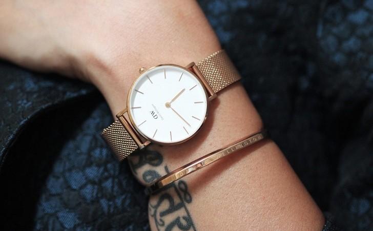 Đồng hồ nữ Daniel Wellington DW00100163 thay pin miễn phí - Ảnh 6