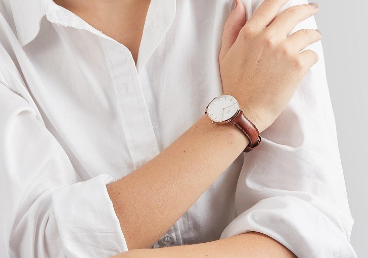 Đồng hồ nữ Daniel Wellington DW00100175 thay pin miễn phí - Ảnh 4