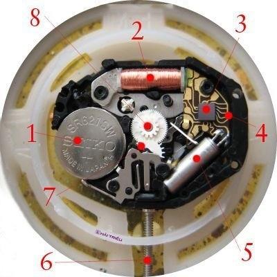Đồng hồ Quartz là gì? Ưu, nhược điểm trên đồng hồ quartz - Ảnh: 3