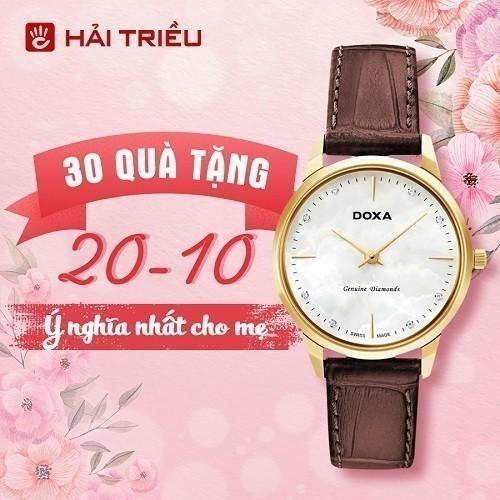 Quà tặng đồng hồ 20/10 ý nghĩa cho mẹ