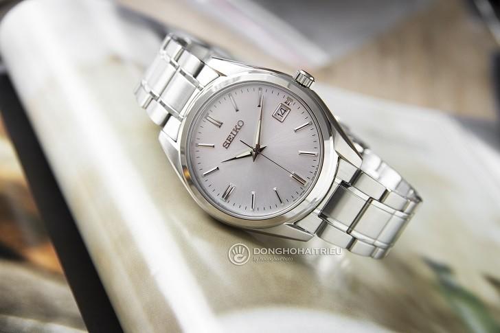 Đồng hồ Seiko SUR307P1 thiết kế trẻ trung, thoải mái bơi lội - Ảnh 1