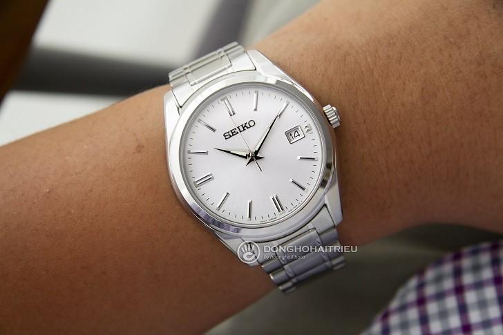 Đồng hồ Seiko SUR307P1 thiết kế trẻ trung, thoải mái bơi lội - Ảnh 2