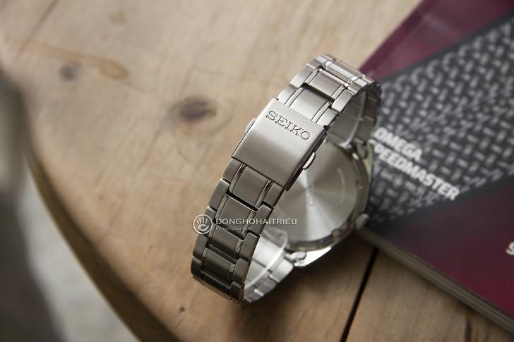 Đồng hồ Seiko SUR307P1 thiết kế trẻ trung, thoải mái bơi lội - Ảnh 4