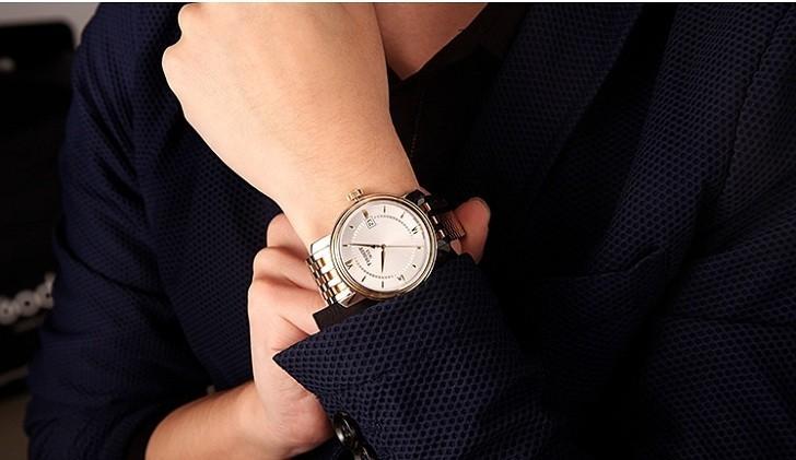 Đồng hồ Tissot T097.410.22.038.00 dây kim loại demi mạ vàng - Ảnh 1
