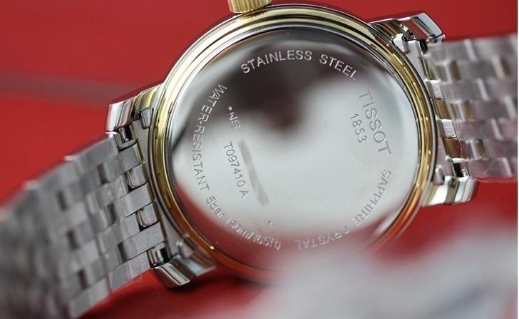 Đồng hồ Tissot T097.410.22.038.00 dây kim loại demi mạ vàng - Ảnh 6
