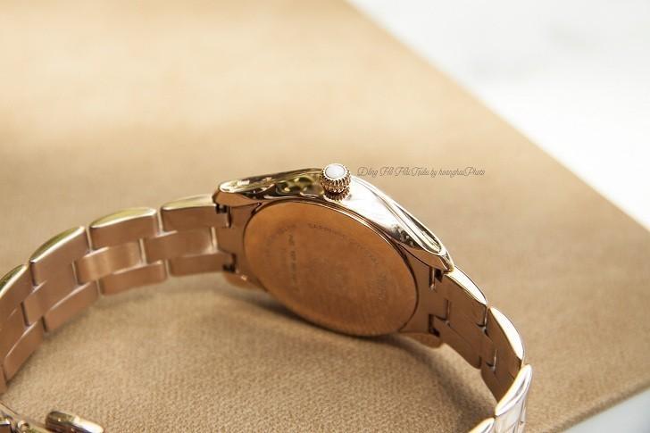 Đồng hồ Tissot T112.210.33.111.00 dải lụa pha lê trên xà cừ - Ảnh 5