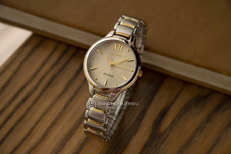 2 dòng đồng hồ Citizen nữ mặt tròn đặc sắc nhất hiện nay - Ảnh: 5