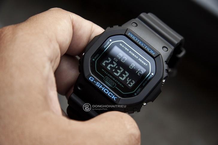 Mặt số G-Shock DW-5600BBM-1DR - Ảnh: 1