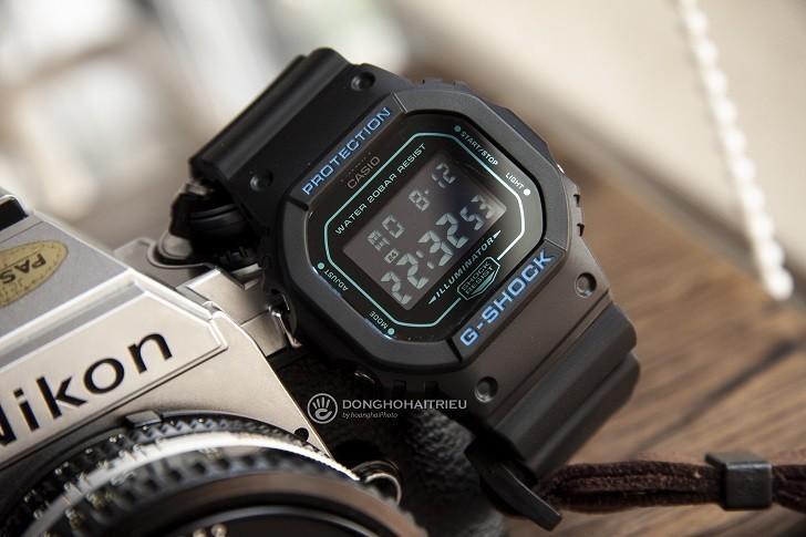 Khả năng hiển thị đa chiều của G-Shock DW-5600BBM-1DR - Ảnh: 3