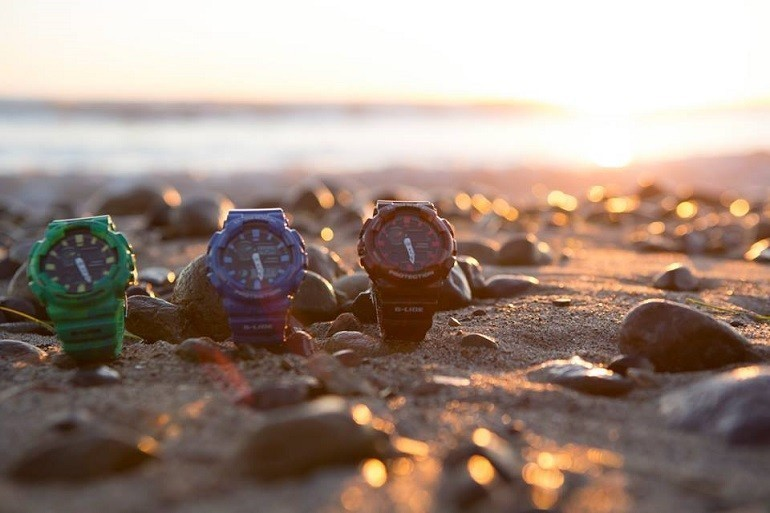 Đồng hồ điện tử nữ chống nước cũng có rất nhiều kiểu dáng - Ảnh: 14