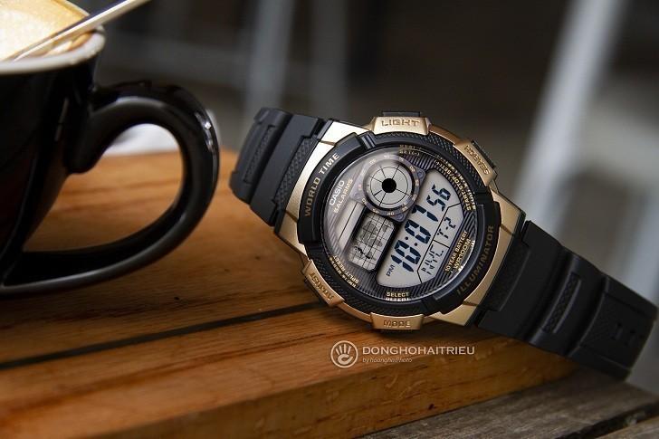 Đồng hồ Casio AE-1000W-1A3VDF giá rẻ, thay pin miễn phí - Ảnh 1