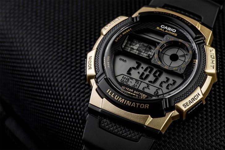 Đồng hồ Casio AE-1000W-1A3VDF giá rẻ, thay pin miễn phí - Ảnh 2