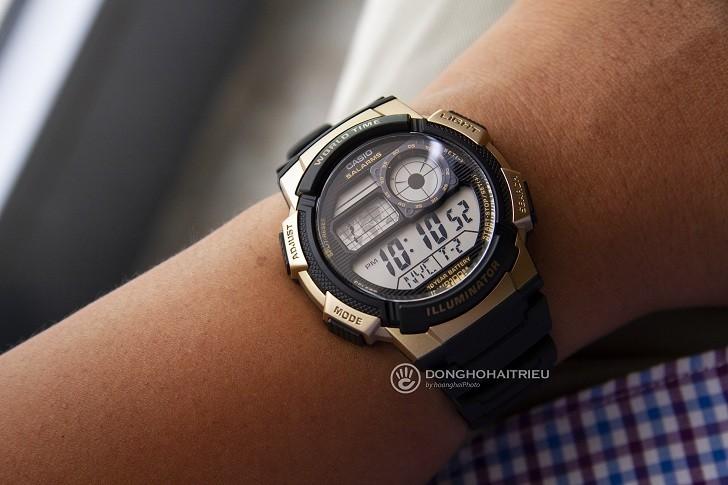 Đồng hồ Casio AE-1000W-1A3VDF giá rẻ, thay pin miễn phí - Ảnh 3