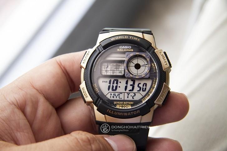 Đồng hồ Casio AE-1000W-1A3VDF giá rẻ, thay pin miễn phí - Ảnh 4