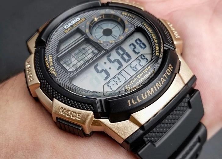 Đồng hồ Casio AE-1000W-1A3VDF giá rẻ, thay pin miễn phí - Ảnh 6