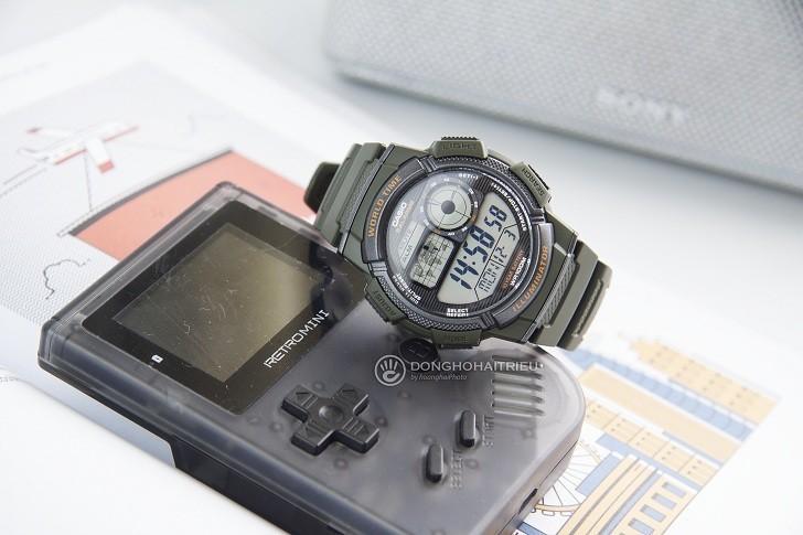 Đồng hồ nam Casio AE-1000W-3AVDF giá rẻ, thay pin miễn phí - Ảnh 1