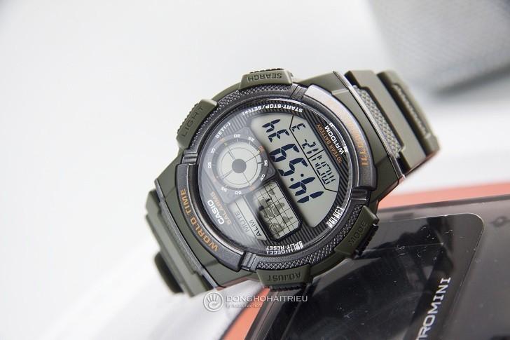 Đồng hồ nam Casio AE-1000W-3AVDF giá rẻ, thay pin miễn phí - Ảnh 4