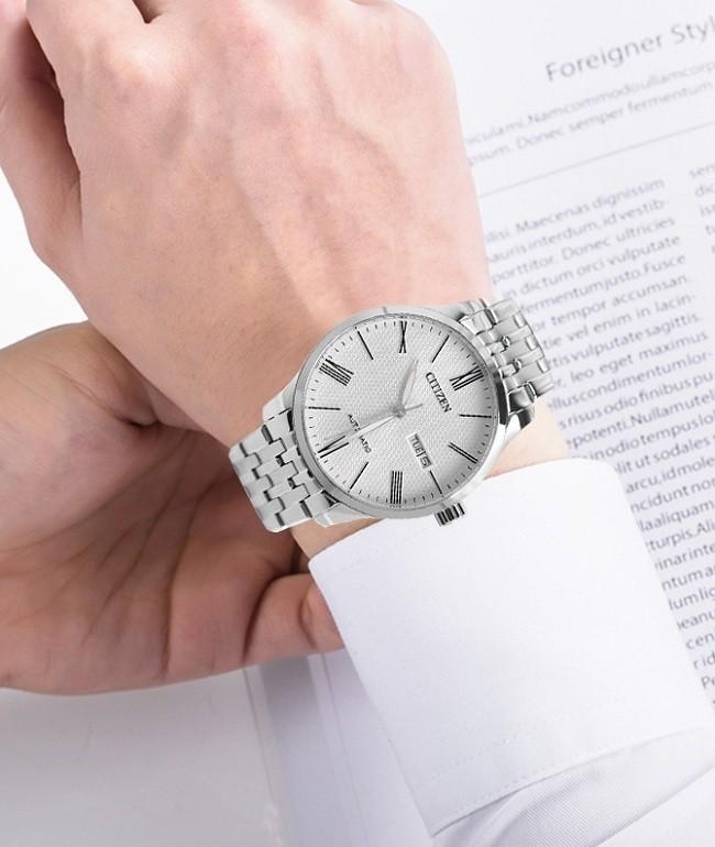 Đồng hồ Citizen NH8350-59A automatic, trữ cót đến 40 giờ - Ảnh 1