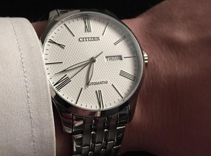 Đồng hồ Citizen NH8350-59A automatic, trữ cót đến 40 giờ - Ảnh 2