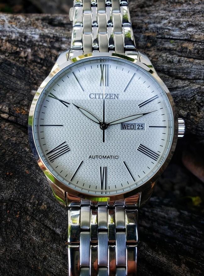 Đồng hồ Citizen NH8350-59A automatic, trữ cót đến 40 giờ - Ảnh 3