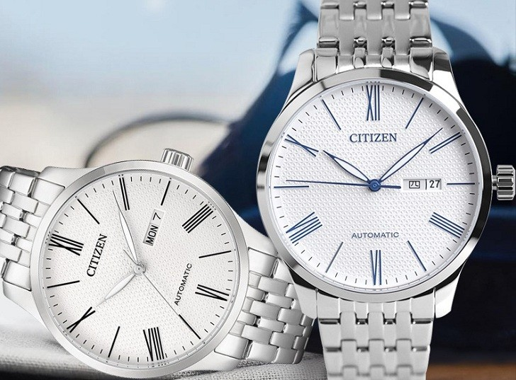 Đồng hồ Citizen NH8350-59A automatic, trữ cót đến 40 giờ - Ảnh 4