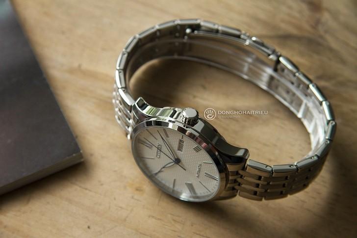 Đồng hồ Citizen NH8350-59A automatic, trữ cót đến 40 giờ - Ảnh 6