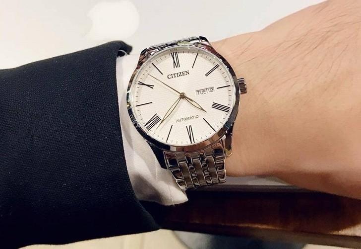 Đồng hồ Citizen NH8350-59A automatic, trữ cót đến 40 giờ - Ảnh 7