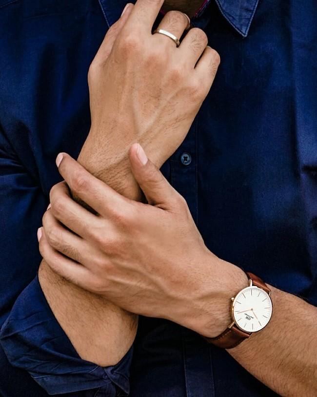 Đồng hồ nam Daniel Wellington DW00100006 thay pin miễn phí - Ảnh 1