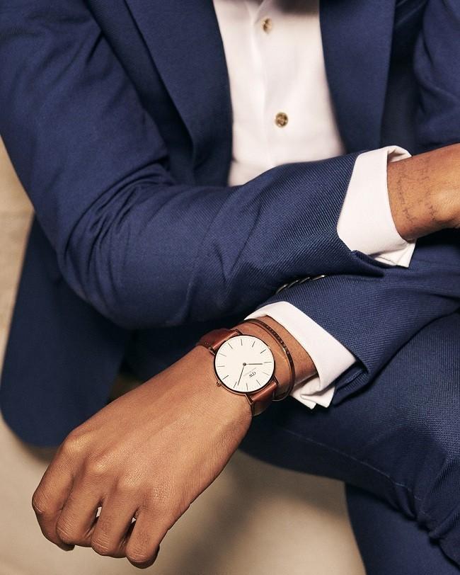 Đồng hồ nam Daniel Wellington DW00100006 thay pin miễn phí - Ảnh 4