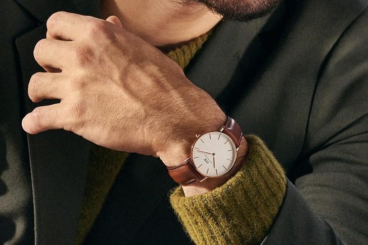 Đồng hồ nam Daniel Wellington DW00100006 thay pin miễn phí - Ảnh 7