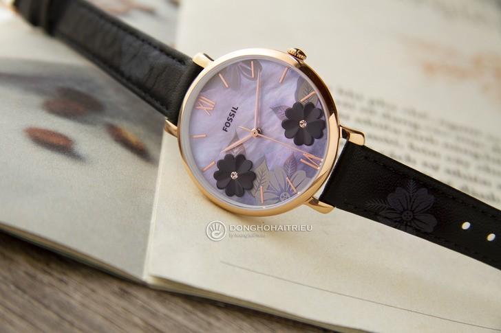 Đồng hồ Fossil ES4535 giá rẻ, thay pin miễn phí trọn đời - Ảnh 3