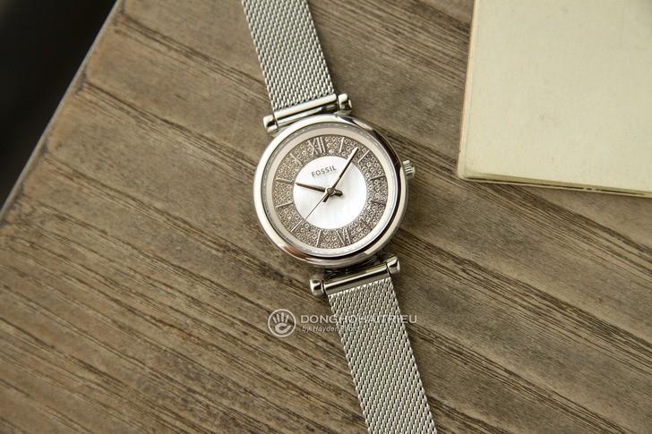 Đồng hồ Fossil ES4837 giá rẻ, thay pin miễn phí trọn đời - Ảnh 1