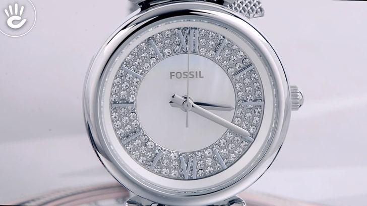Đồng hồ Fossil ES4837 giá rẻ, thay pin miễn phí trọn đời - Ảnh 2