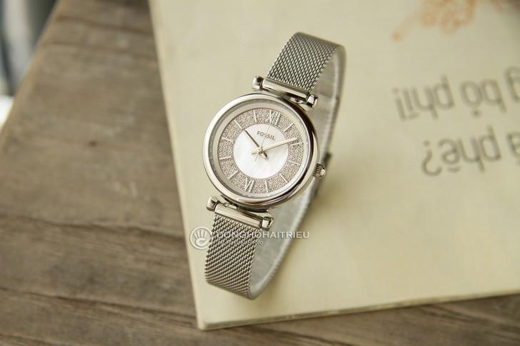 Đồng hồ Fossil ES4837 giá rẻ, thay pin miễn phí trọn đời - Ảnh 8