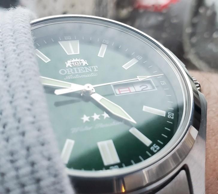 Đồng hồ Orient RA-AB0F08E19B máy cơ Nhật, trữ cót 40 giờ - Ảnh 2