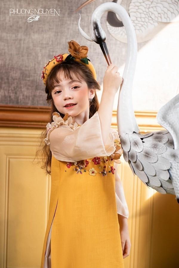 Phương Nguyễn Silk là thương hiệu kinh doanh áo dài Tết cho bé nổi tiếng Sài Gòn - Ảnh 23