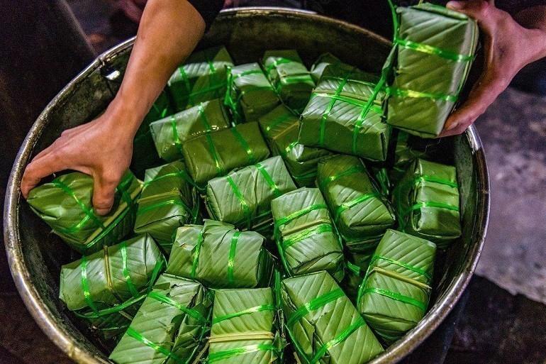 10 nơi bán Bánh Chưng, Bánh Tét ngày Tết ngon, chuẩn vị gốc - Ảnh: 9